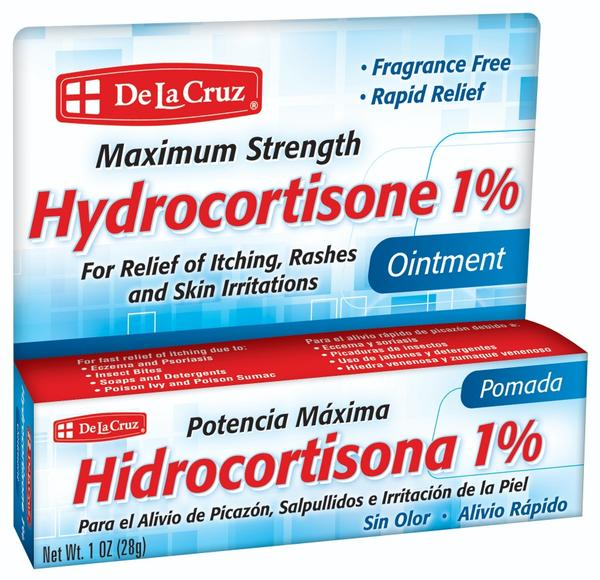 De La Cruz® Hydrocortisone 1% 1 OZ (28 g)