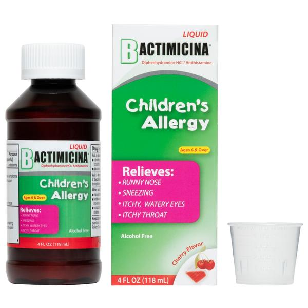 Bactimicina® Children's Allergy Liquid 4 FL OZ (118 mL)