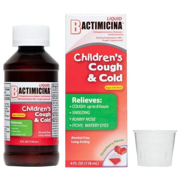 Bactimicina® Children's Cough & Cold Liquid 4 FL OZ (118 mL)