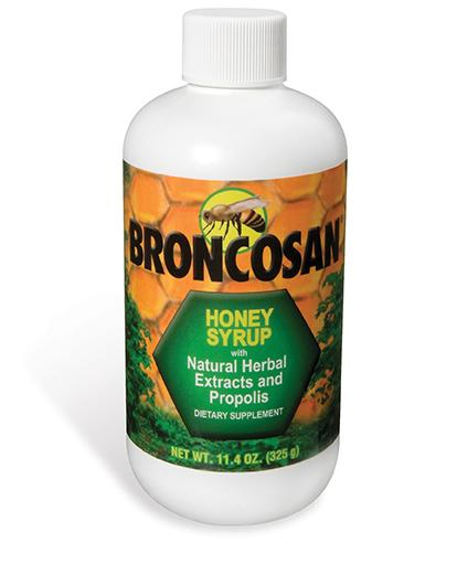 Dietary Supplements - Broncosan® Syrup with Propolis 11.4 OZ (325 g)