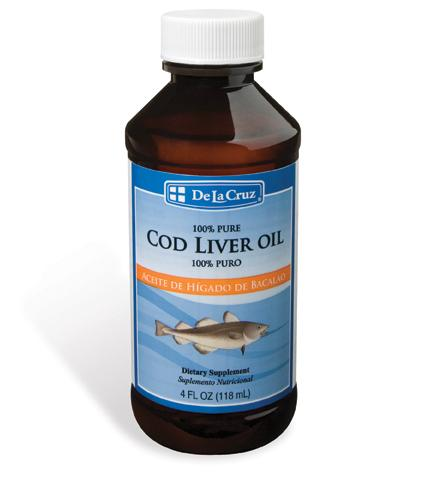 Dietary Supplements - De La Cruz® Pure Icelandic Cod Liver Oil 4 FL OZ (118 mL)