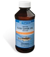 De La Cruz® Cod Liver Oil 4 FL OZ (118 mL)