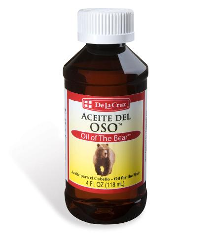 Skin & Hair Care - Hair Care - De La Cruz® Oil of The Bear™ 4 FL OZ (118 mL)