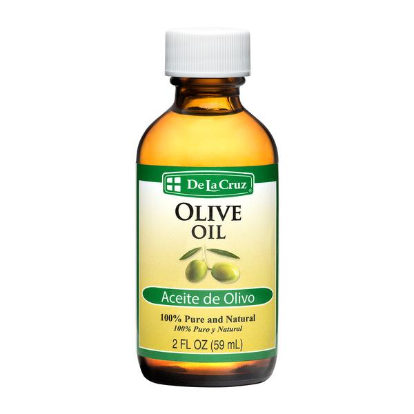 Skin & Hair Care - Oils - De La Cruz® Pure, Non-GMO Olive Oil 2 FL OZ (59 mL)