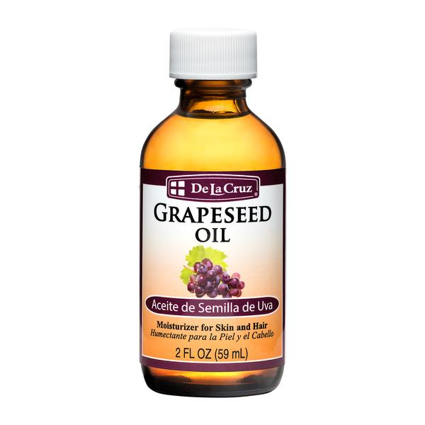 Skin & Hair Care - Oils - De La Cruz® Expeller-Pressed Grapeseed Oil 2 FL OZ (59 mL)