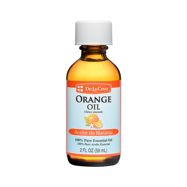 - Essential Oils - De La Cruz® Pure, Cold-Pressed Orange Essential Oil 2 FL OZ (59 mL)